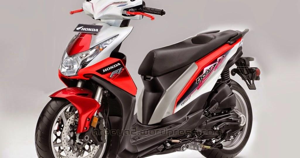 Modifikasi Motor Beat Putih Merah 2016 Blog Motor Keren