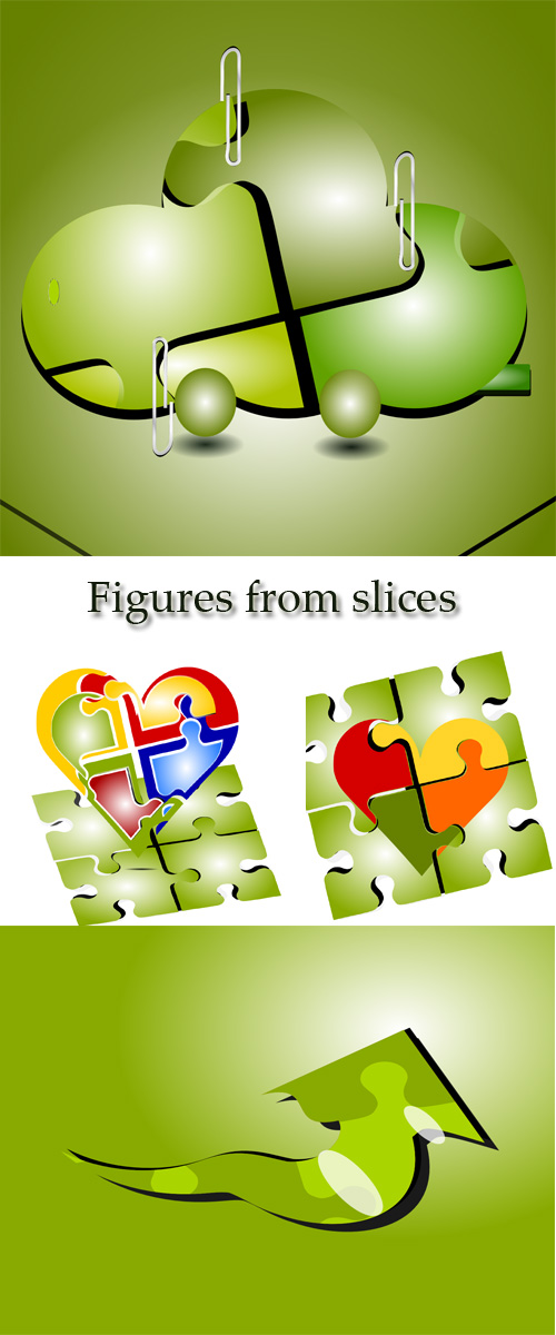 Stock: Figures from slices