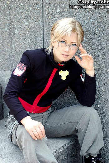 unknown cosplay 117 / macross frontier cosplay - mikhail michael blanc