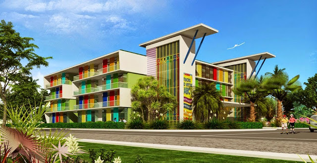 Trường trung học cơ sở tại dự án Louis City