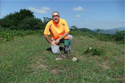 San Justi mendiaren gailurra 1.044 m. -  2012ko ekainaren 22an