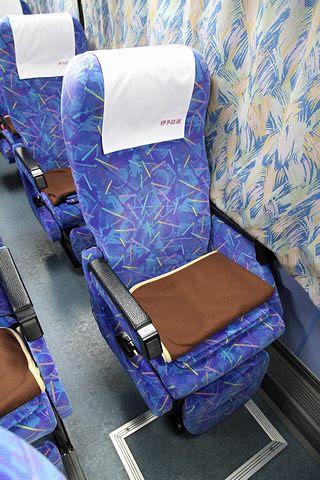 伊予鉄道「オレンジライナーえひめ号」 5253 シート