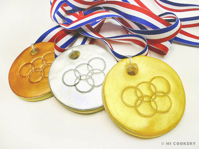 Olympic Medal Cookies
