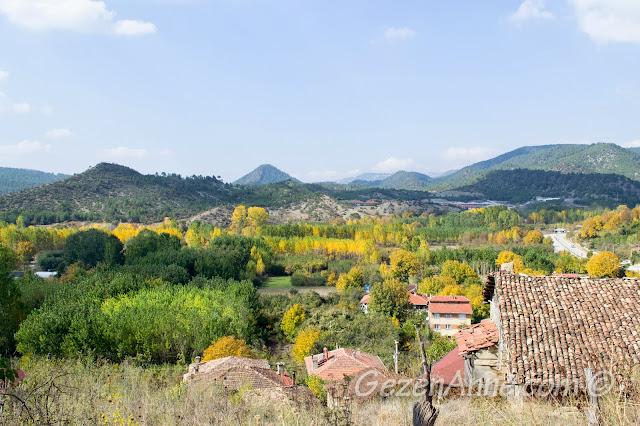 Taraklı'dan sonbahar manzarası