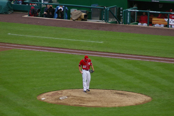 Storen on the mound