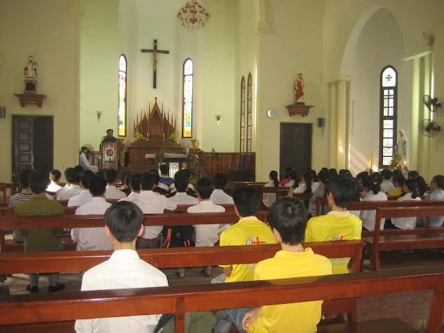 Hình ảnh Thánh lễ cầu nguyện cho năm học mới và đón Tân sinh viên giáo phận Hưng Hóa tại Hà Nội