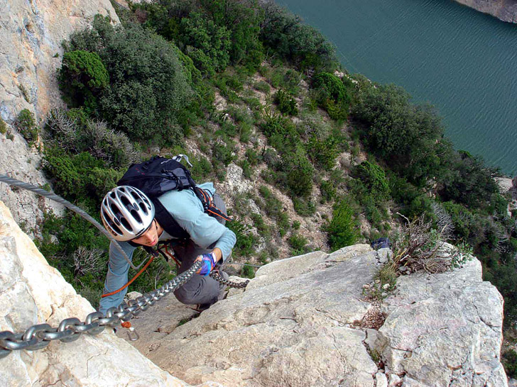 Via Ferrata Italy (15 Scariest Hikes in the World).