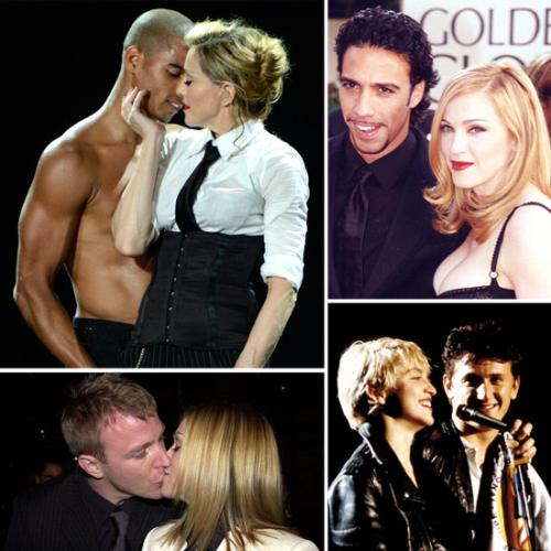 Check out Madonna's past lovers in a nutshell HERE.