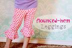 Flounced Leggings