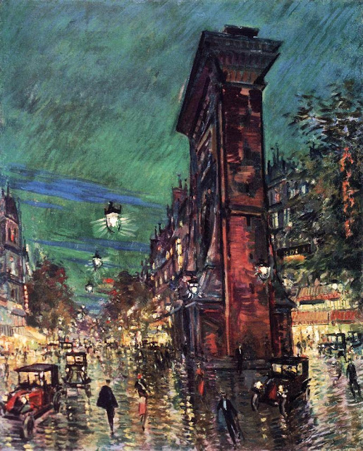 Konstantin Korovin - Paris. Saint Denis Arc. 1930