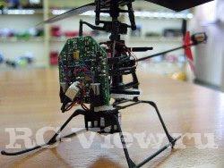 Четырехканальный радиоуправляемый вертолет в разборе