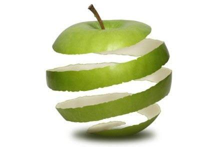 قشر التفاح وسيلة ناجحة لإزالة الدهون .. * حرق الدهون *