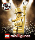17. LEGO Minifigures Series 10 Mr. Gold
