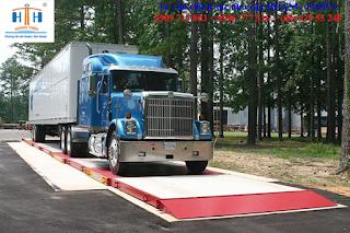 cân xe tải 12 mét là loại cân ô tô 80 tấn
