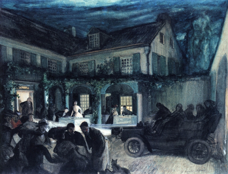 Everett Shinn - Saturday Night
