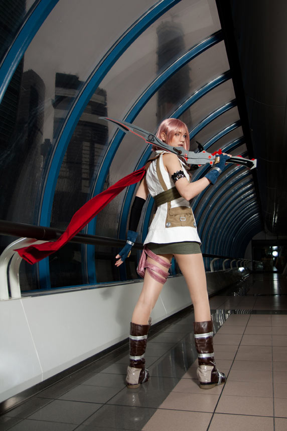 Sexy Lightning Final Fantasy XIII Cosplay 6