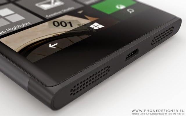 Ngắm concept Microsoft Lumia 1030 đẹp lung linh