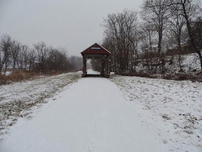 Pennsylvania, Pittsburgh, Covered Bridges, Snow, Ice, Tour