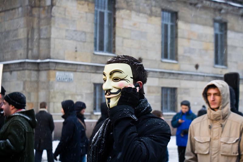 Петербург протестует