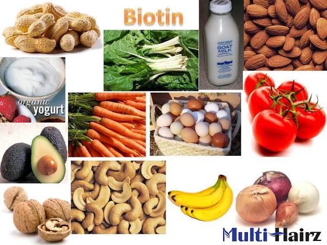 Nhóm thực phẩm giàu Biotin