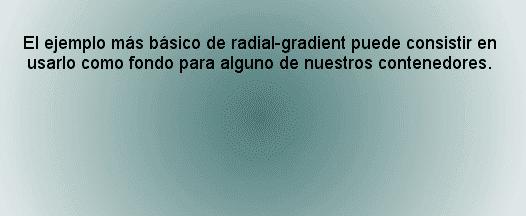 css radial-gradient