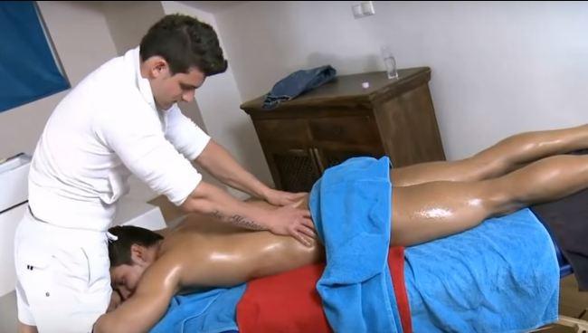 Massage boy from boy, boylove