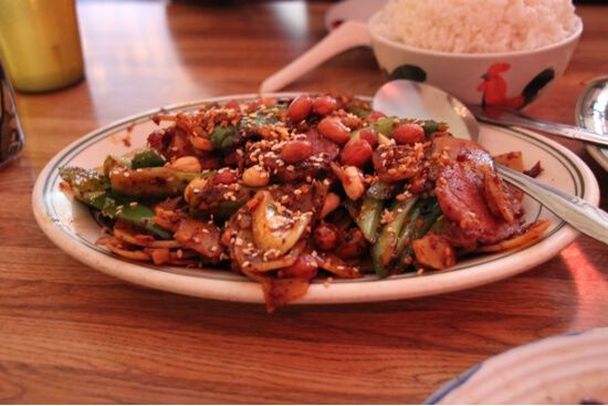 Kung Pao Pastrami. Respect the dragon.