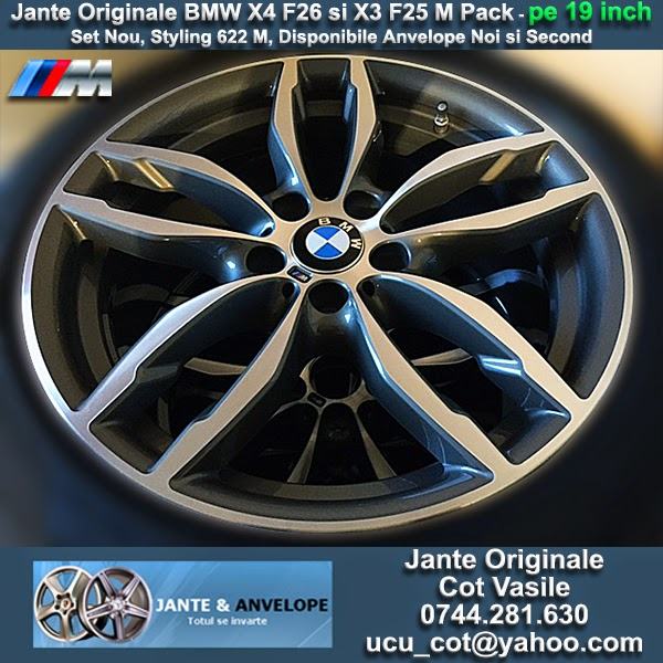 BMW X4 F26 And X3 F25 Styling 622 M Pack Original Genuine