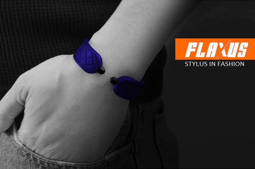 *FLAXUS矽膠手環觸控筆:還增添了童玩趣味! 1