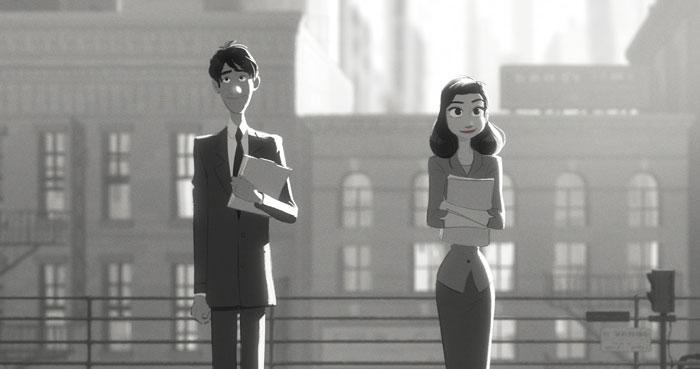 *榮獲奧斯卡提名-迪士尼動畫短片Paperman:紙飛機劃開愛情的隔界 1