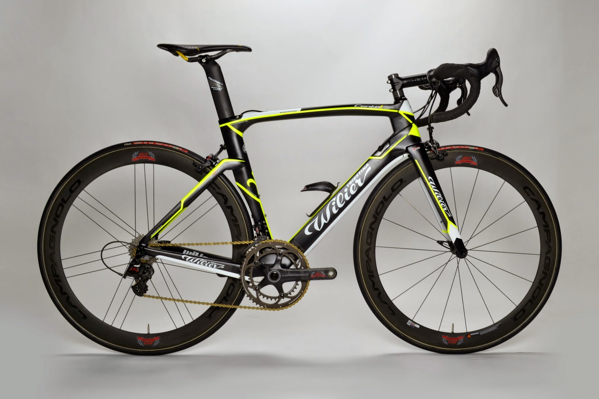 176fc506a3d 2015 Wilier Triestina Cento1 Air Campagnolo Super Record 80th Anniversary  Complete Bike at twohubs.com