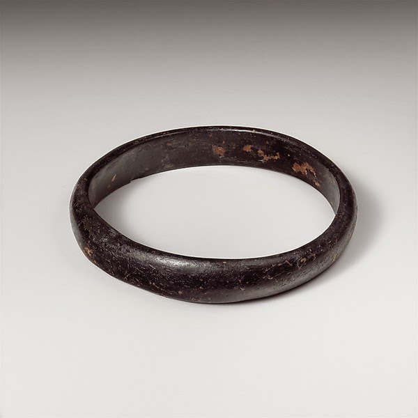 Roman Glass Bangle from The Metropolitan Museum