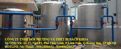 xử lý lọc nước giếng khoan công nghiệp