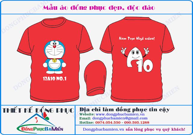 Mau ao lop 12A10 truong THPT chuyen Ha Nam