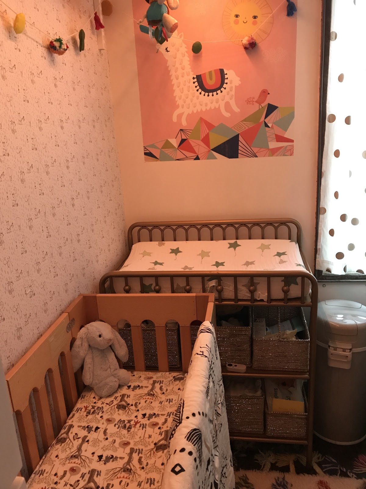 Tiny (ish) apartment = tiny nursery