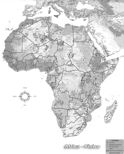 AFRICA | MAPAS DE