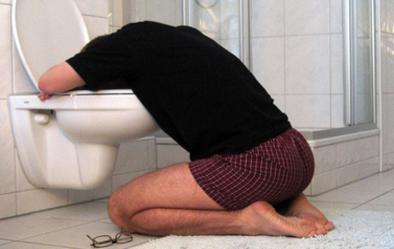 VIDEO: Un adolescente llegó borracho a su casa y el