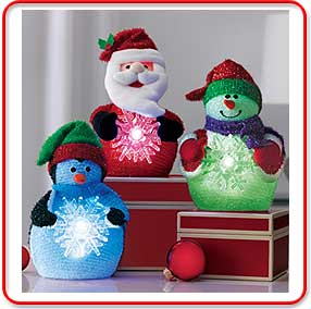 Avon Holiday Light Up Pals