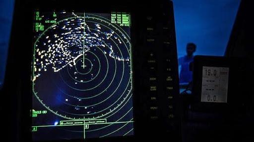 Ảnh chụp màn hình huyền ảo của một radar kiểm soát gợi nhớ đến bí ẩn lớn nhất của ngành hàng không năm 2014 - sự mất tích của chuyến bay MH370 của hãng Malaysia Airlines tại khu vực phía bắc Ấn Độ Dương. Ảnh: Getty Images