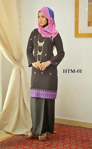 baju kurung moden online murah baju raya 2014 hitam