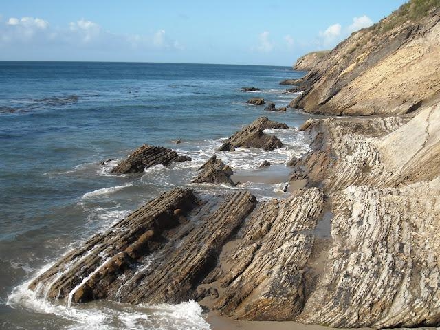 santa barbara rock fold