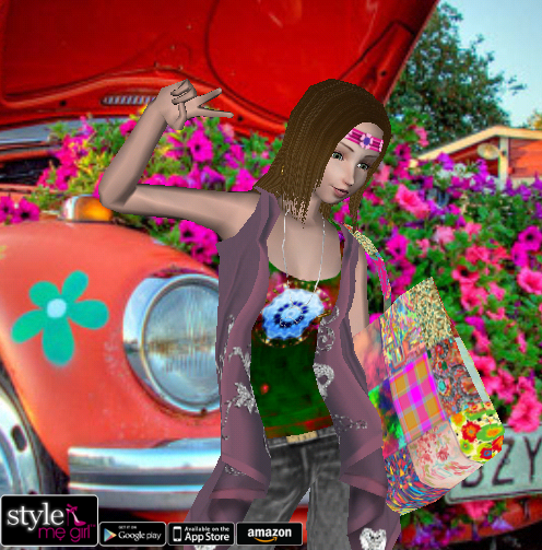 Style Me Girl Level 11 - Sunshine - Hippie