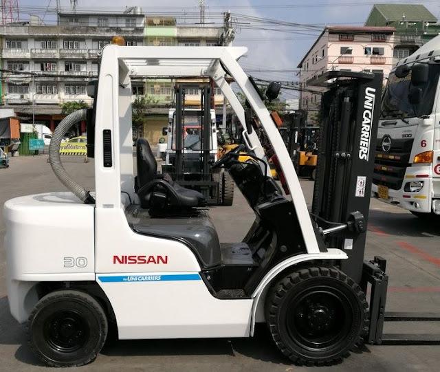 Xe nâng diesel Nissan Nhật Bản