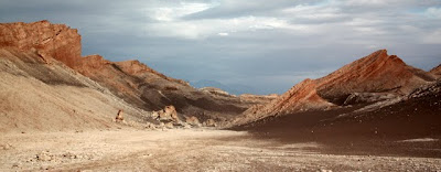 Valley of the Moon in the Atacama Desert in Chile