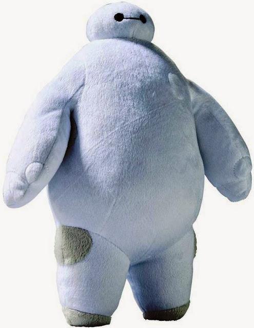 Baymax phát tiếng được làm bằng bông mềm mại tạo sự thích thú  đối với trẻ thơ