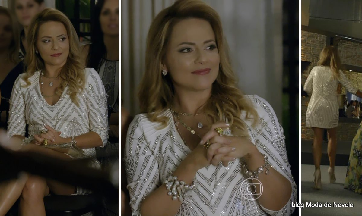 moda da novela Em Família - look da Shirley dia 28 de abril