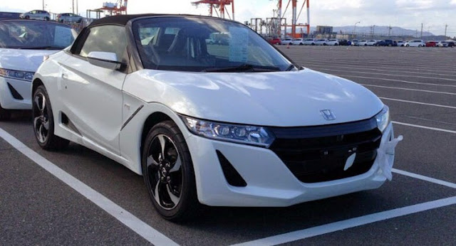 ew Honda S660 Roadster Scooped Undisguised In Production Form