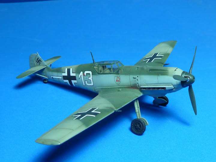 "Messerschmmit Bf 109 E-3 - Major Hans ""Assi"" Hahn P1040041"