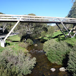 Foot bridge over Thredbo River (270992)