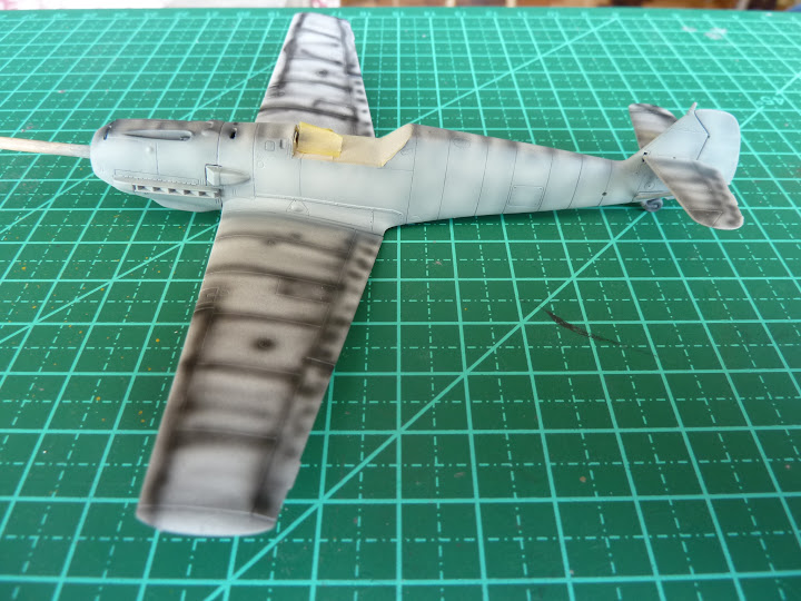 "Messerschmmit Bf 109 E-3 - Major Hans ""Assi"" Hahn P1030985"